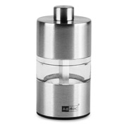 Ad Hoc - Mini Stainless Steel Pepper or Salt Mill