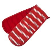 Ladelle - Butcher Stripe Double Glove Red