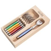 Laguiole - Debutante Multicoloured Cake Fork Set 6pce