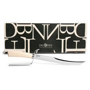 Del Ben - Champagne Sabre with Ivory Handle Small