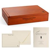 Forgetful Gentleman - Letterpress Thankyou Kit