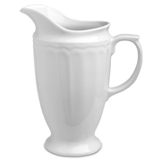 Pillivuyt - Queen Anne White Pitcher 2L