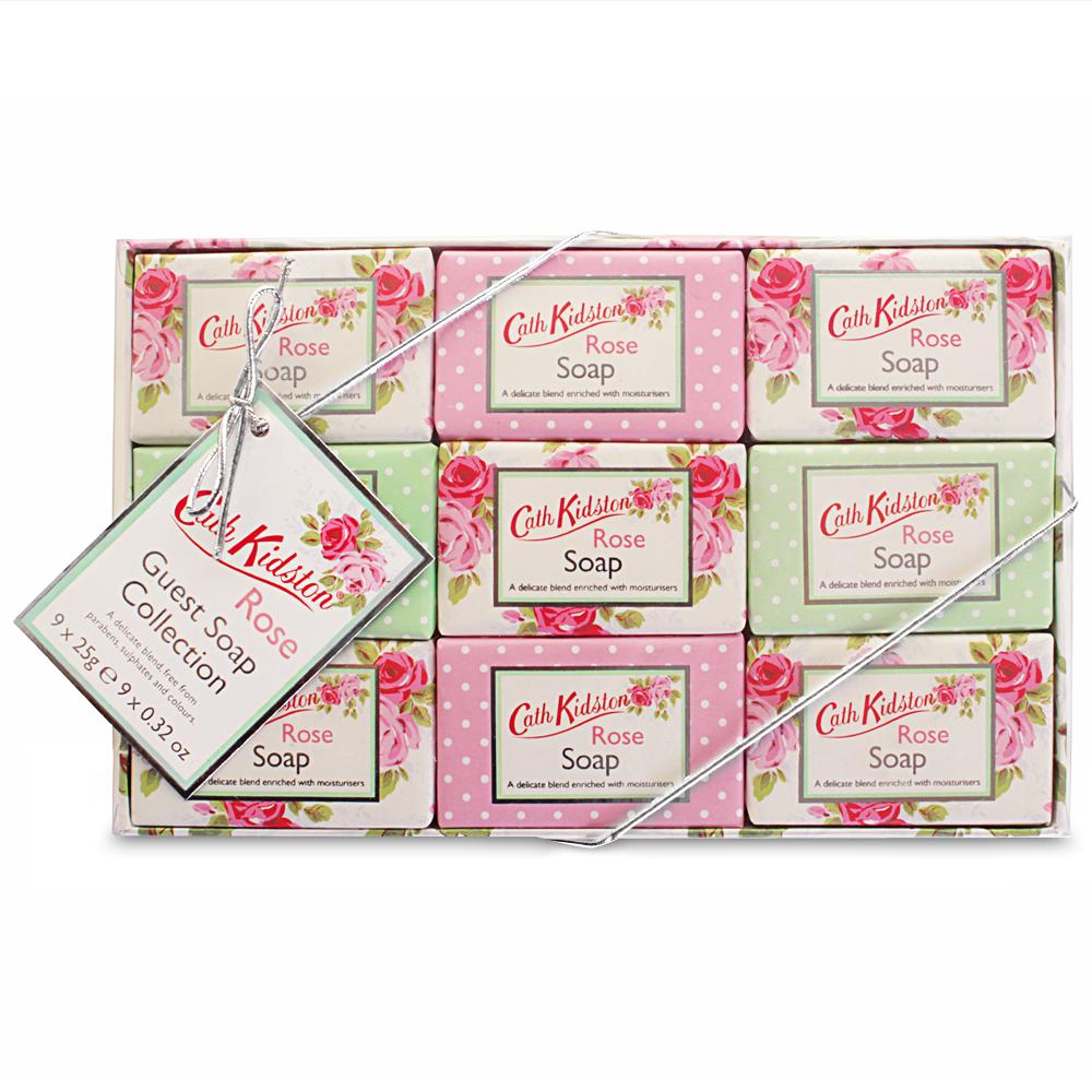 Cath Kidston Wedding Gift List : Cath Kidston - Rose Guest Soaps 25g 9pce
