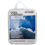 Bambi - Cool Comfort Mattress Topper/Protector Queen Fitted