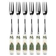 Spode - Christmas Tree Pastry Fork Set 6pce