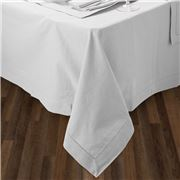 Rans - Hemstitch Tablecloth White 130x180cm