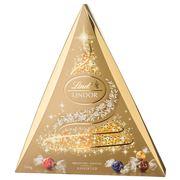 Lindt - Lindor Christmas Tree Assorted Chocolates Box 500g