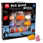 Micador - Pet House Besties Marker & Crayon Super Set