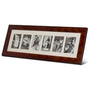 Addison Ross - Brown Rope Six Picture Frame