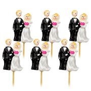 Robert Gordon - Cupcake Topper Set 6pce Bride & Groom