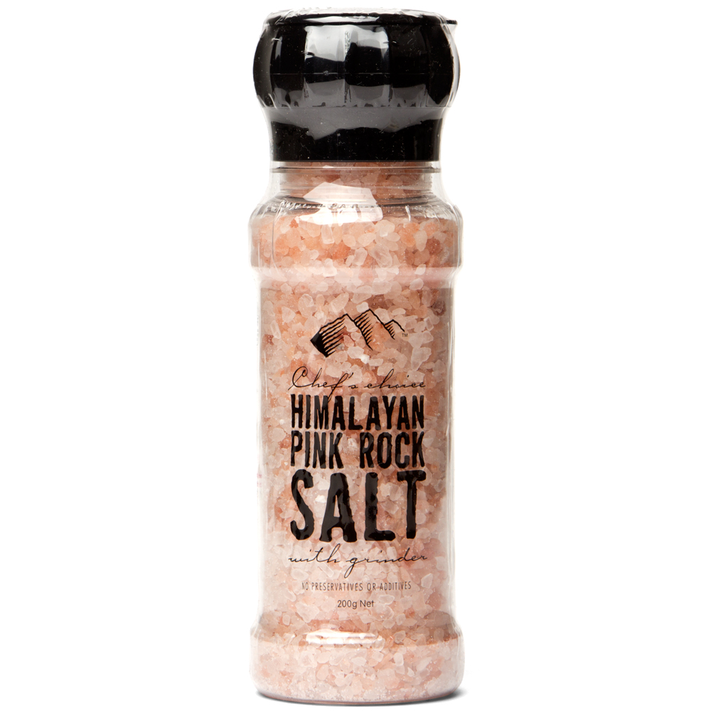 Chef S Choice Himalayan Pink Rock Salt 200g Peter S Of