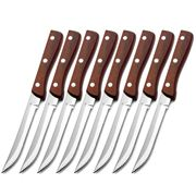 Tablekraft - Pakkawood Steak Knife Set 8pce