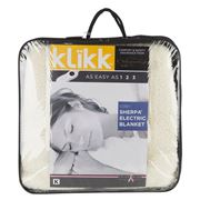 Onkaparinga - Klikk Cosy Sherpa King Electric Blanket