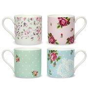 Royal Albert - New Country Roses Mug Set 4pce
