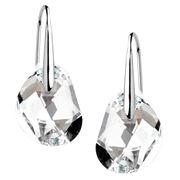 Swarovski - Galet Clear Crystal Pierced Earrings