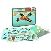 Mudpuppy - Magnetic Design Set Airplane