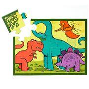 Mudpuppy - 12 Piece Jigsaw Puzzle Dinosaurs