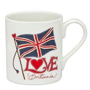 Jan Constantine - Love Britannia Flag Mug