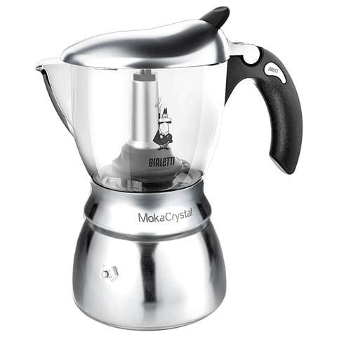 Bialetti - Moka Crystal Espresso Maker 4 Cup