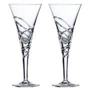 Royal Doulton - Crystal Saturn Nouveau Wine Set 2pce