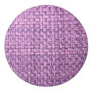 Nesi Tessile - Round Placemat Purple