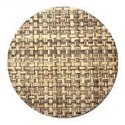 Nesi Tessile - Round Placemat Light Brown
