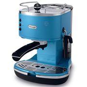 DeLonghi - Icona Espresso and Cappuccino Blue Coffee Maker