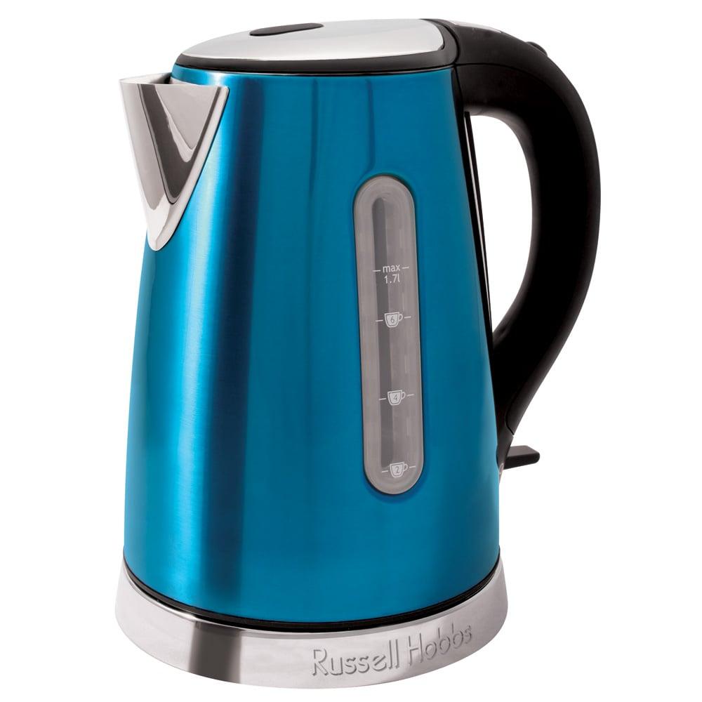 Russell hobbs kitchen metallics kettle blue 1 7l