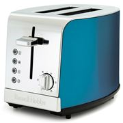Russell Hobbs - Kitchen Metallics Blue Two Slice Toaster