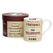 Royal Worcester - Football Back Of The Net Mug