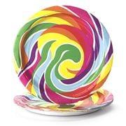 Dylan's Candy Bar - Lollipop Paper Plate Set 8pce