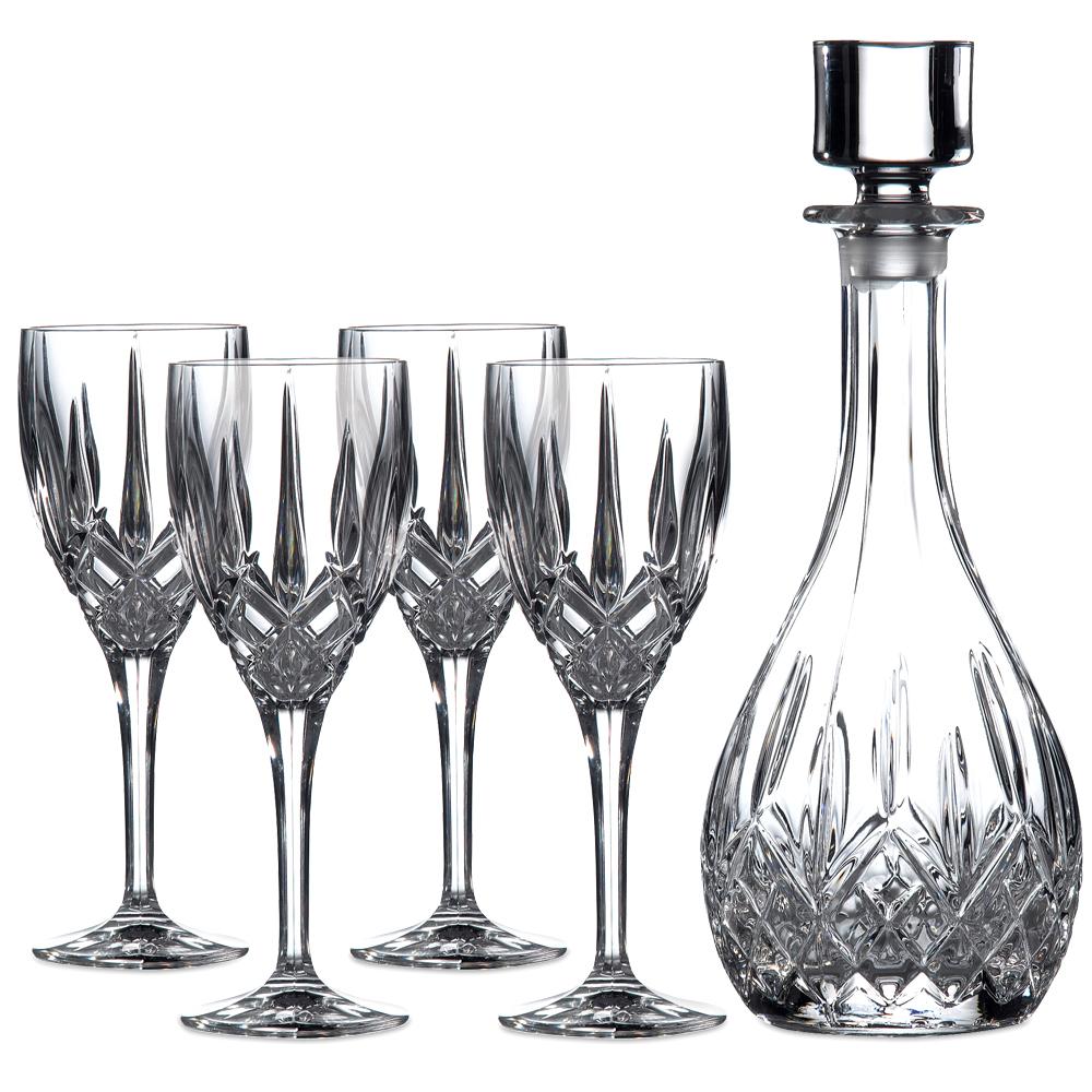 royal doulton wine decanter set 5pce peter 39 s of kensington. Black Bedroom Furniture Sets. Home Design Ideas