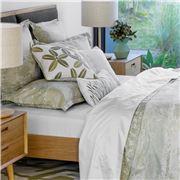 Linen & Moore - Savoy White Queen Size Sheet Set