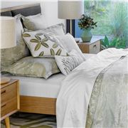 Linen & Moore - Savoy Sheet Set White King Size