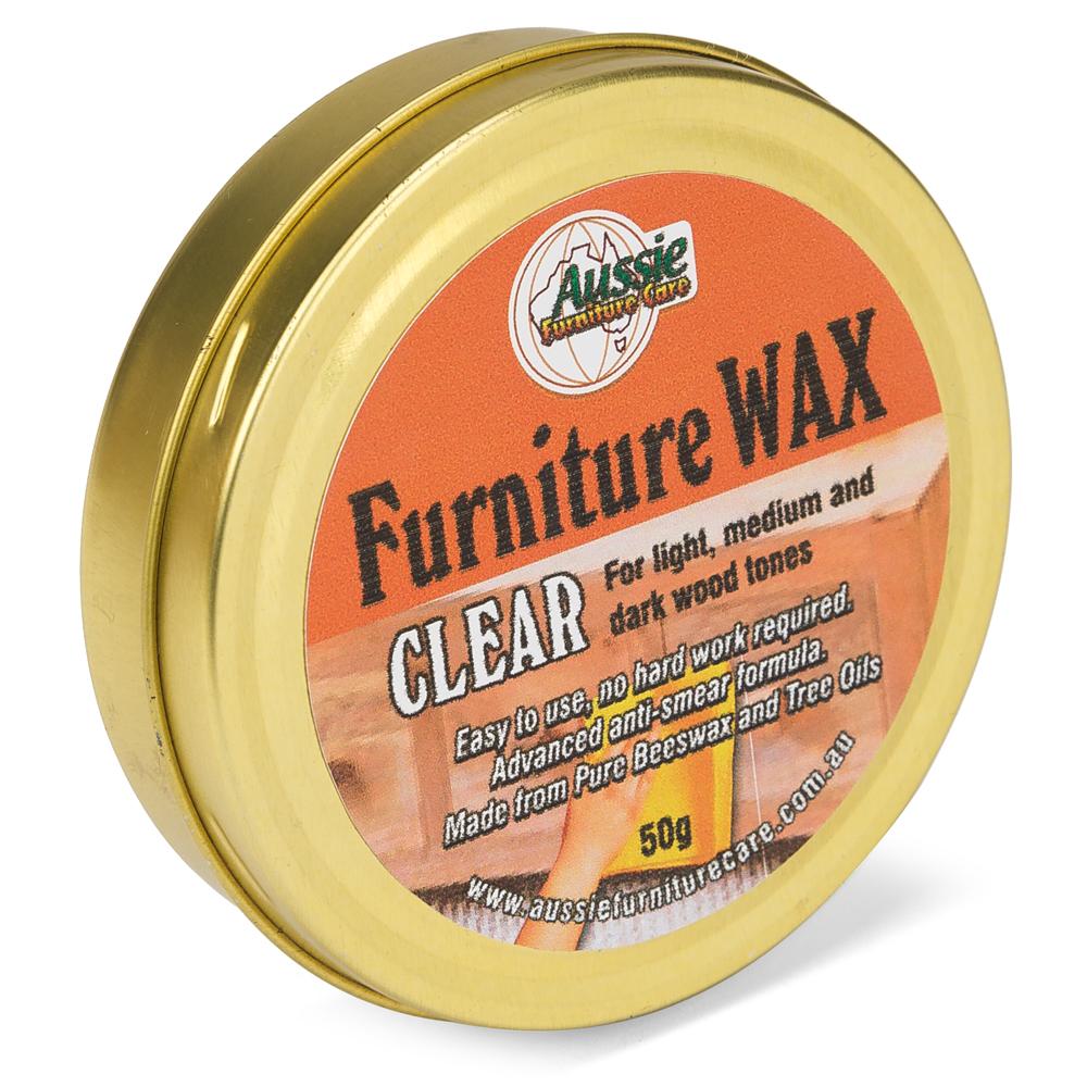 Aussie Furniture Care - Clear Furniture Wax 50g