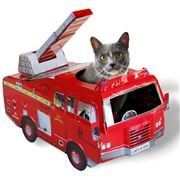 Suck UK - Cat Playhouse Fire Engine