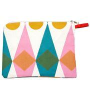Sukie - Pencil Case/Cosmetics Bag Diamonds
