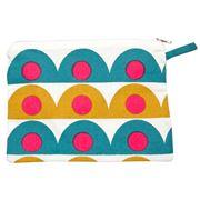 Sukie - Pencil Case/Cosmetics Bag Scallop