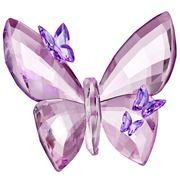 Swarovski - Butterfly Light Amethyst Large