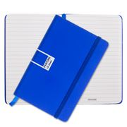 Pantone - Dazzling Blue Pocket Ruled Elastic Band Notebook
