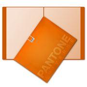 Pantone - Pantone Glossy Portfolio Flame Orange