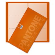 Pantone - Large Business Card Holder Flame Orange