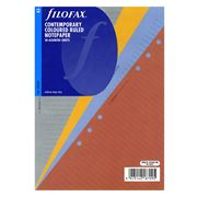 Filofax - A5 Contemporary Coloured Ruled Note Paper