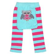 Tippy Toes - Footless Tights Owl 6-12 Months