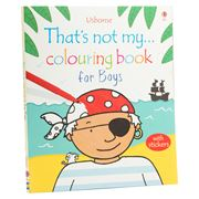 Book - That's Not My Colouring Book: For Boys