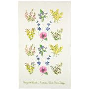 Susie Crooke - Pretty Wild Flowers Tea Towel