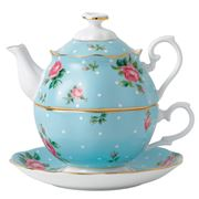 Royal Albert - Polka Blue Tea For One