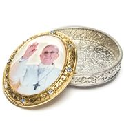 Vatican Library Collection - Pope Francis Rosary Box