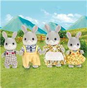 Sylvanian Families - Cottontail Rabbit Family 4pce