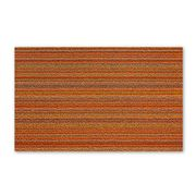 Chilewich - Indoor/Outdoor Skinny Stripe Small Orange Mat
